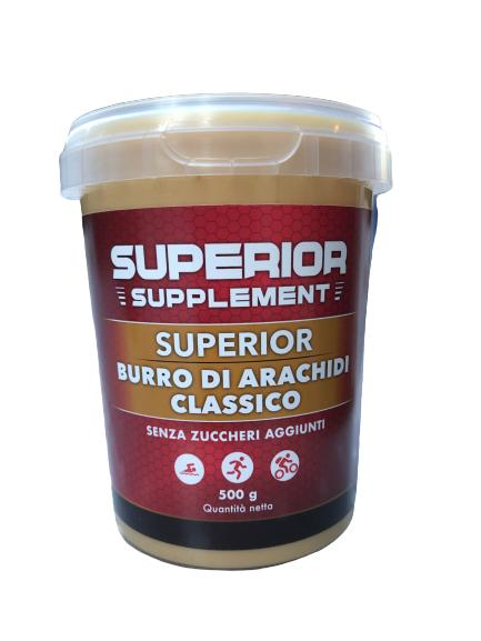 burro di arachidi classico superior supplement